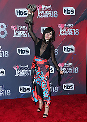 INGLEWOOD, LOS ANGELES, CA, USA - MARCH 11: 2018 iHeartRadio Music Awards held at The Forum on March 11, 2018 in Inglewood, Los Angeles, California, United States. 11 Mar 2018 Pictured: Camila Cabello. Photo credit: David Acosta/Image Press Agency / MEGA TheMegaAgency.com +1 888 505 6342