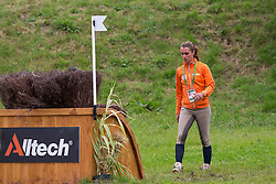 Merel Blom, (NED) - Eventing Cross Country test - Alltech FEI World Equestrian Games™ 2014 - Normandy, France.<br /> © Hippo Foto Team - Leanjo de Koster<br /> 30/08/14