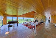 Modern Home Designed by Norman Jaffe,  Barons Lane, Southampton, NY, Long Island
