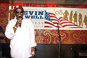 Fab 5 Freddy at An evening with Dave Chappelle for Kevin Powell for Congress held at Eugene's on July 9, 2008..Kevin Powell runs as a Democratic Candidate for Congress in Brooklyn's 10th Congressional District
