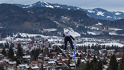 30.01.2016, Normal Hill Indiviual, Oberstdorf, GER, FIS Weltcup Ski Sprung Ladis, Bewerb, im Bild Giania Ernst (GER) // Gianna Ernst of Germany during her Competition Jump of FIS Ski Jumping World Cup Ladis at the Normal Hill Indiviual, Oberstdorf, Germany on 2016/01/30. EXPA Pictures © 2016, PhotoCredit: EXPA/ Peter Rinderer