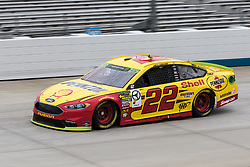 October 5, 2018 - Dover, DE, U.S. - DOVER, DE - OCTOBER 05: Joey Logano driver of the #22 Shell Pennzoil Ford during practice for the Monster Energy NASCAR Cup Series Gander Outdoors 400 on October 05, 2018, at Dover International Speedway in Dover, DE. (Photo by David Hahn/Icon Sportswire) (Credit Image: © David Hahn/Icon SMI via ZUMA Press)