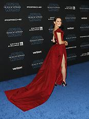World Premiere of Disney's 'Star Wars: The Rise Of Skywalker' - Red Carpet 12-16-2019