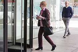 London, UK. 6 November, 2019. Dame Margaret Beckett arrives at Labour Party HQ for an NEC meeting to discuss important selection issues, including whether to lift Chris Williamson's suspension and whether Keith Vaz and Stephen Hepburn should be reinstated for the general election on December 12th. Credit: Mark Kerrison/Alamy Live News