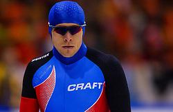 04-01-2003 NED: Europees Kampioenschappen Allround, Heerenveen<br /> 1500 m - Alexandr Kibalko RUS