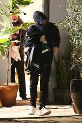 Leonardo DiCaprio is camera shy as he and Camila Morrone are spotted leaving Italian restaurant Madeo in Beverly Hills. The couple arrived at 9 P.M. and left at 11:10 P.M. after having a romantic dinner date for about 2 hours. 05 Feb 2019 Pictured: Leonardo DiCaprio. Photo credit: MEGA TheMegaAgency.com +1 888 505 6342