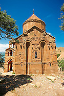 10th century Armenian Orthodox Cathedral of the Holy Cross on Akdamar Island, Lake Van Turkey 59 .<br /> <br /> If you prefer to buy from our ALAMY PHOTO LIBRARY  Collection visit : https://www.alamy.com/portfolio/paul-williams-funkystock/lakevanturkey.html<br /> <br /> Visit our TURKEY PHOTO COLLECTIONS for more photos to download or buy as wall art prints https://funkystock.photoshelter.com/gallery-collection/3f-Pictures-of-Turkey-Turkey-Photos-Images-Fotos/C0000U.hJWkZxAbg