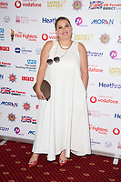Nadia Essex at the Sapper Support celebrity charity event for the launch of their brand-new PTSD support lanyard at The Army & Navy Club, London