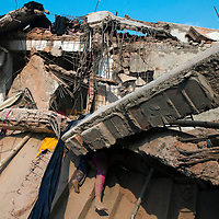 Rana Plaza 8 Storey Building collapsed in  around 8.45 morning on 24 April 2013 in Savar outskirt of Dhaka,Bangladesh. <br /> <br /> The building had 4 Garments, 1 bank and many shops. <br /> <br /> At least 151 killed and thousand inured