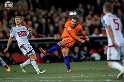 07-10-2016 NED: WK kwalificatie Nederland - Wit-Rusland, Rotterdam<br /> Het Nederlands elftal heeft in De Kuip een 4-1 overwinning op Wit-Rusland geboekt /