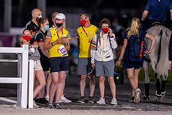 Bruyninx Frederik, Laeremans Wendy, Roos Etienne, Michiels Inge, Margeaux <br /> Olympic Games Tokyo 2021<br /> © Hippo Foto - Dirk Caremans<br /> 26/07/2021