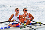 Eton. Great Britain. FRA JW2X, Bronze Medal,  FISA Junior  World Rowing Championships. Dorney Lake, Nr Windsor. Sunday, 07/08/2011 [Mandatory credit: Intersport Images]