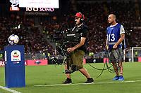 Cameraman Tv. <br /> Roma 27-08-2018 Stadio Olimpico Football Calcio Serie A 2018/2019 AS Roma - Atalanta  Foto Andrea Staccioli / Insidefoto