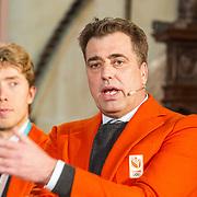 NLD/Den Haag/20180323 - Huldiging Olympische en Paralympische medaillewinnaars, chef de mission Jeroen Bijl
