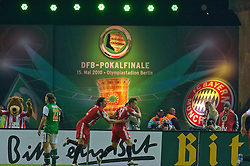 15.05.2010, Olympia Stadion, Berlin, GER, DFB Pokal Finale 2010,  Werder Bremen vs Bayern Muenchen im Bild  jubel nach dem o zu 2 durch Ivica Olic (Bayern #11). EXPA Pictures © 2010, PhotoCredit: EXPA/ nph/ Kokenge / SPORTIDA PHOTO AGENCY