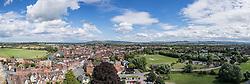 Pano Tewkesbury, Gloucestershire, England, Great Britain