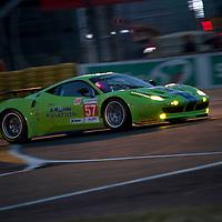 #57 Ferrari 458 Italia, Krohn Racing, Drivers: Krohn/Jonsson/Rugolo, Class: GTE Am, Le Mans 24H, 2012
