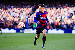 March 30, 2019 - Barcelona, BARCELONA, Spain - 07 Coutinho of FC Barcelona during the ''Derby'' of La Liga match between FC Barcelona and RCD Espanyol in Camp Nou Stadium in Barcelona 30 of March of 2019, Spain. (Credit Image: © AFP7 via ZUMA Wire)