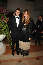 BEN & KATE GOLDSMITH at The Diner Des Tsars in aid of Unicef to celebrate the launch of Quintessentially Wine held at the Guildhall, London EC2 on 29th March 2007.<br /><br />NON EXCLUSIVE - WORLD RIGHTS