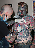 """EXCLUSIVE Britain's most tattooed man """"King Of Ink Land"""""""