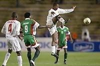 Fotball<br /> African Nations Cup 2004<br /> Afrika Mesterskapet 2004<br /> Foto: Digitalsport<br /> Norway Only<br /> <br /> FIRST ROUND - GROUP B - 040130<br /> MALI v BURKINA FASO<br /> <br /> DJIBRIL SIDIBE (MALI) / MOUMOUNI DAGANO (BUR)