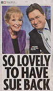 Sue Carroll and Alan Titchmarsh / Daily Mirror / March 2011