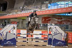 Deraedt Christof, BEL, Quistello HW<br /> Pavo Hengsten competitie - Oudsbergen 2021<br /> © Hippo Foto - Dirk Caremans<br />  22/02/2021
