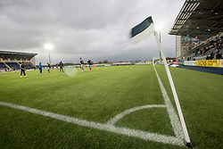 Pics before the game. <br /> Falkirk 4 v 1 Fraserburgh, Scottish Cup third round, played 28/11/2015 at The Falkirk Stadium.