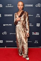 Adwoa Aboah attending the Global Citizen Live event held at the 02 Brixton Academy, London.