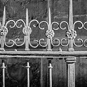 Iron fence, Granada, Spain (December 2006)