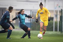 Nina Kajzba of ZNK Pomurje during football match between ŽNK Pomurje and ŽNK Krim in 12th Round of Slovenska ženska nogometna liga 2020/21, on November 15, 2020 in TŠC Trate, Gornja Radgona, Slovenia. Photo by Blaž Weindorfer / Sportida
