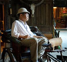 Chipathaphan Sathan Ban Khu Bua Museum and Yuan Weavers, Ratchaburi Province, Thailand