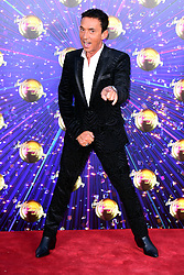 Bruno Tonioli arriving at the red carpet launch of Strictly Come Dancing 2019, held at BBC TV Centre in London, UK.