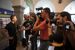 during press conference of 24th Tour of Slovenia 2017 / Tour de Slovenie cycling race on June 14, 2017 in City museum, Ljubljana, Slovenia. Photo by Vid Ponikvar / Sportida