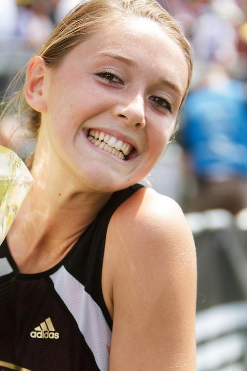 Samsung Diamond League adidas Grand Prix track & field; Dream Mile, High School Girls, Cami Chapus