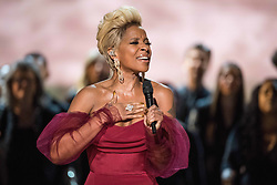 March 4, 2018 - Hollywood, California, U.S. - Oscar nominee for Best Original Song, Mary J. Blige performs live at The 90th Oscars at the Dolby Theatre in Hollywood. (Credit Image: ? Aaron Poole/AMPAS via ZUMA Wire/ZUMAPRESS.com)