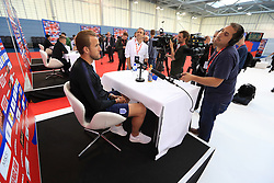 England's Harry Kane during the media day at St George's Park, Burton. PRESS ASSOCIATION Photo. Picture date: Tuesday June 5, 2018. See PA story SOCCER England. Photo credit should read: Mike Egerton/PA Wire. RESTRICTIONS: Use subject to FA restrictions. Editorial use only. Commercial use only with prior written consent of the FA. No editing except cropping.