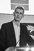 EDMUND DE WAAL at the Whitechapel Gallery Art Icon 2015 Gala dinner supported by the Swarovski Foundation. The Banking Hall, Cornhill, London. 19 March 2015