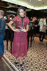 SARAH-JANE CRAWFORD at the Thomas sabo & Professional Player cocktail reception at Thomas sabo, 65 South Molton Street, London on 30th September 2015.