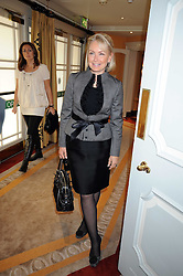 HEINI AL-FAYED at a fashion show and lunch in aid of  AMAR International Charitable Foundation held at The Dorchester, Park Lane, London W1 on 9th October 2008.