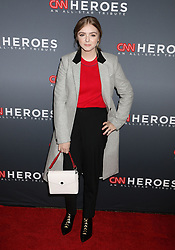 December 9, 2018 - New York City, New York, U.S. - ELSIE FISHER attends the 12th Annual CNN Heroes: An All-Star Tribute held at the American Museum of National History. (Credit Image: © Nancy Kaszerman/ZUMA Wire)