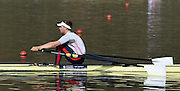 Caversham  Great Britain.<br /> John COLLINS. <br /> 2016 GBR Rowing Team Olympic Trials GBR Rowing Training Centre, Nr Reading  England.<br /> <br /> Tuesday  22/03/2016 <br /> <br /> [Mandatory Credit; Peter Spurrier/Intersport-images]