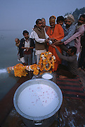 The Yamuna also called the Jamuna or Jumna is a major tributary river of the Ganges (Ganga) in northern India. With a total length of around 1,370 kilometers (851 mi), it is the largest tributary of the Ganges...Its source is at Yamunotri, in the Uttarakhand Himalaya, which is north of Haridwar in the Himalayan Mountains. It flows through the states of Delhi, Haryana and Uttar Pradesh, before merging with the Ganges at Allahabad. The cities of Delhi, Mathura and Agra lie on its banks. The major tributaries of this river are the Tons, Chambal, Betwa, and Ken; with the Tons being the largest...A heavy freight canal, known as the SYL (Sutlej-Yamuna Link), is being built westwards from near its headwaters through the Punjab region near an ancient caravan route and highlands pass to the navigable parts of the Sutlej-Indus watershed. This will connect the entire Ganges, which flows to the east coast of the subcontinent, with points west (via Pakistan). When completed, the SLY will allow shipping from India's east coast to the west coast and the Arabian sea, drastically shortening shipping distances and creating important commercial links for north-central India's large population.