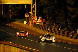 June 18, 2017 - Le Mans, Sarthe, France - Keating Motorsports .Riley MK30 - Gibson rider BEN KEATING (USA) in action during the race of the 24 hours of Le Mans on the Le Mans Circuit - France (Credit Image: © Pierre Stevenin via ZUMA Wire)