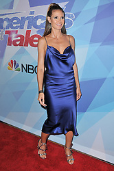 "Heidi Klum at the NBC ""America's Got Talent"" Season 12 Live Show held at the Dolby Theater in Hollywood, CA on Tuesday, August 22, 2017. (Photo By Sthanlee B. Mirador/Sipa USA)"
