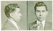 Mugshots of mobsters in the 1930s New York found in private diaries of detective now up for auction<br /> <br /> Eugene Canevari joined the New York Police Department and worked for 24 years in crime<br /> He dealt with some of the most prominent New York organized crime figures of the era<br /> Upon retiring in 1952 he took with him a collection of police documents and photos as souvenirs<br /> By JAMES DANIEL<br /> <br /> PUBLISHED: 22:49, 20 June 2013 | UPDATED: 23:03, 20 June 2013<br /> <br />    140 shares 38 View <br /> comments<br /> Striking images of New York mobsters from the dirty thirties have been revealed as they come up for auction.<br /> <br /> Over 24 years, Eugene Canevari, a detective with the New York Police Department began working on cases involving some of the most well-know crime figures of the era: Lucky Luciano, Louis 'Lepke' Buchalter, Dutch Schultz and Vincent 'Mad Dog' Coll.<br /> <br /> After retiring in 1952, Canevari took with him a number of police documents and photographs that charted his long career.<br /> Now his files are up for auction and they include some incredible artifacts such as original mugshots of gangsters like Lucky Luciano and Johnny Torrio.<br /> The files also contain various other police documents.<br /> Canevari, who born in Greenwich Village, was on a first name basis with many of the mobsters he later prosecuted, having known several since childhood.<br /> With a career beginning in 1928 at the age of 25, Canevari eventually rose to the rank of Detective 2nd Grade, mainly through his work on organized crime.<br /> In addition to organized crime, he also worked on the NYPD Bomb Squad and Homicide Unit, not to mention his undercover work infiltrating Communist organizations. <br /> Beyond the force, he also protected several celebrities including FDR, James Cagney, and Winston Churchill. <br /> After a long and successful career, Canevari retired in 1952, at the age of 49, having served nearly 25 years.<br /> In