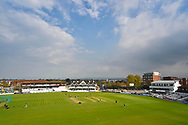 Sunny spells and cloud at The Cooper Associates County Ground before the Specsavers County Champ Div 1 match between Somerset County Cricket Club and Worcestershire County Cricket Club at the Cooper Associates County Ground, Taunton, United Kingdom on 22 April 2018. Picture by Graham Hunt.