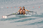 Banyoles, SPAIN,  GBR  LM2X, Bow {L} Rob WILLIAMS and Paul MATTICK Men's Double Sculls, Semi Final.  FISA World Cup Rd 1. Lake Banyoles  Saturday, 30/05/2009  [Mandatory Credit. Peter Spurrier/Intersport Images]