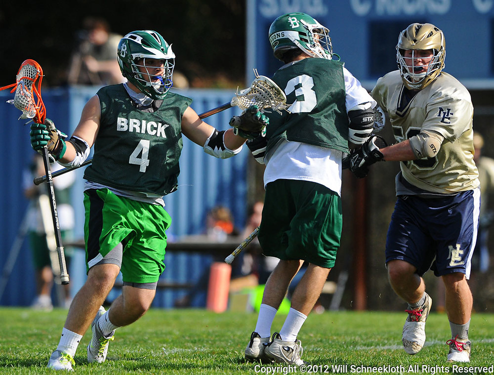 New Egypt hosts Brick Township High School in a boys varsity lacrosse scrimmage at New Egypt High School