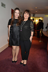 ARLENE PHILLIPS and her daughter ABI at the 10th anniversary Gala of the Russian Ballet Icons at the London Coliseum, St.Martin's Lane, London on 8th March 2015.